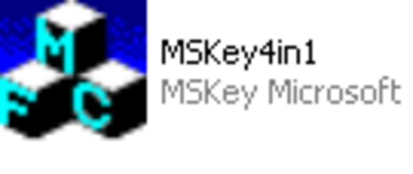Product picture MSKey4in1